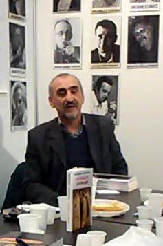 Бела Тукадруз (алиас мирослав Лукић, слика са београдског сајма књига 2014.)